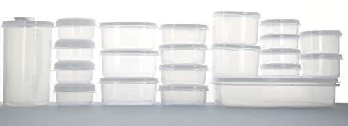 Compactor Lot de 21 boites alimentaires, 28 x 16 x H.28, RAN9002
