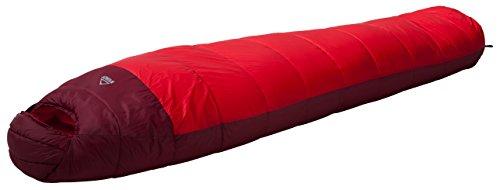McKINLEY Mummien-Schlafsack Kodiak, Red/Red Dark/Red, 195L