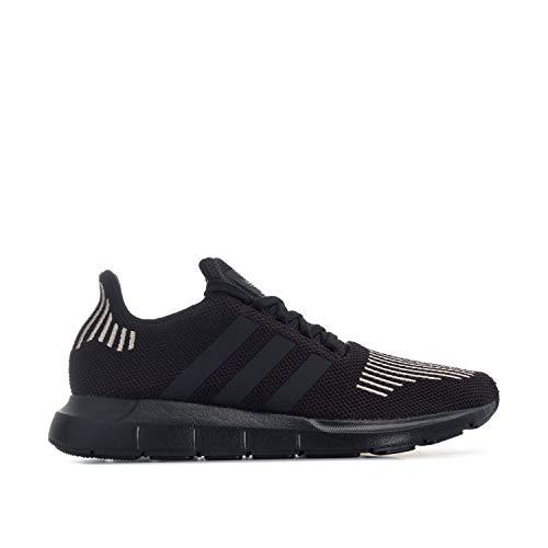 adidas Originals Swift Run - Zapatillas deportivas para hombre, color negro, Negro (Negro ), 39 1/3 EU
