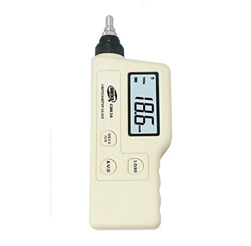 BENETECH gm63a Palmtop-LED Digital Vibration Sensor Messgerät Tester vibrometer Analysegerät Beschleunigung