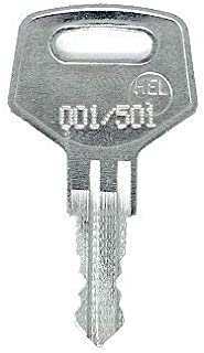 IKEA 001/501 Replacement Cabinet Key