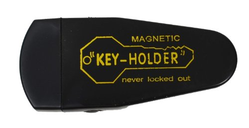 Hide A Key Under Car Magnet Key Case Large Black