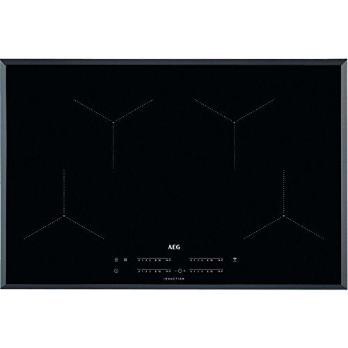 AEG IKB84431FB geïntegreerde kookplaat, met inductiekookplaat, keramiek, zwart, 2300 W, hoekig