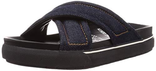 Diesel Herren Sandalen zum Reinschlüpfen, blau, 46.5 EU