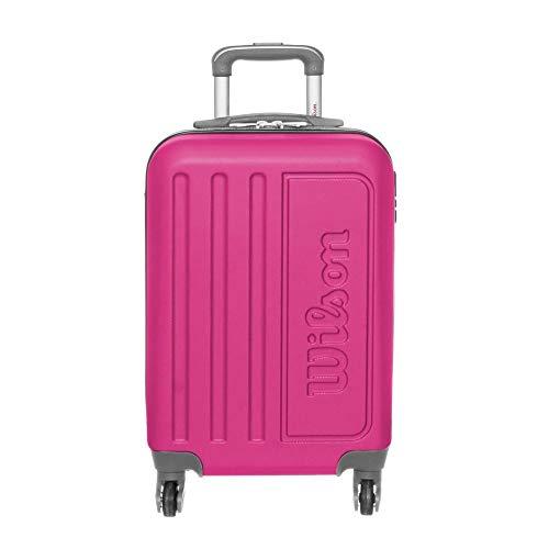 Mala de Viagem de Bordo Wilson em Abs com Rodas 360 Graus - 65-w1709 - Rosa