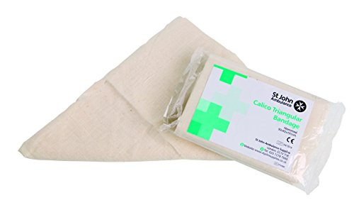 St John Ambulance Reusable Calico Triangular Bandage - 92 x 92 x 131cm