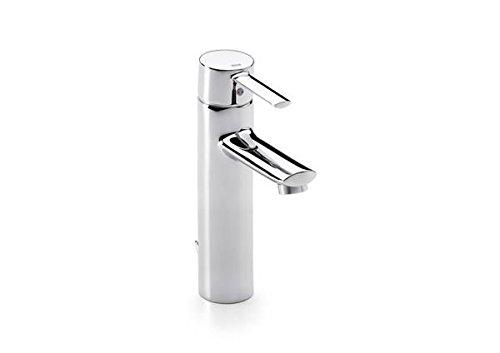 Roca Targa - grifo monomando para lavabo con caño alto y desagüe automático . Griferías hidrosanitarias Monomando. Ref. A5A6060C00
