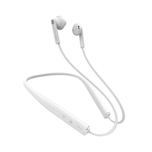 Urbanista Rome - Auriculares (Inalámbrico, Dentro de oído, Banda para Cuello, Binaural, Intraaural, 103 dB, Blanco)