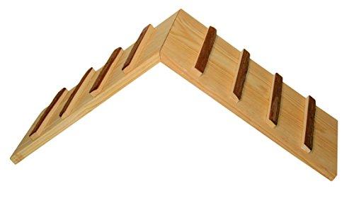 NATURE Puente de madera para salida de jaula; 17cm ancho x 20 cm altura