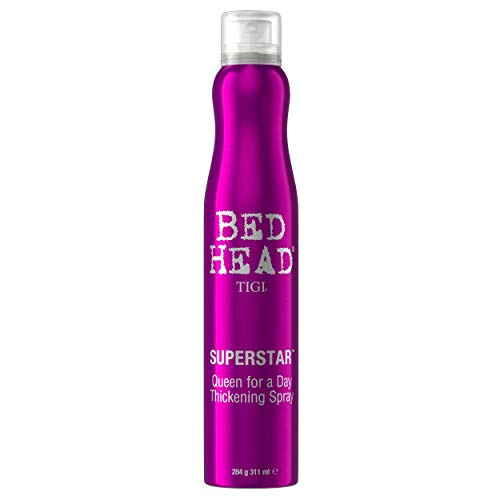 TIGI Bed Head Queen For A Day Volume Thickening Spray for Fine Hair, 311 ml