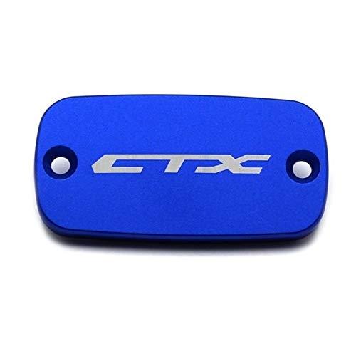 HANLING- CNC-Motorrad-Zubehör Aluminiumfrontbremsflüssigkeitsbehälter Abdeckkappe for Honda CTX 700 700N 1300 2014-2016 (Color : Honda Blue)