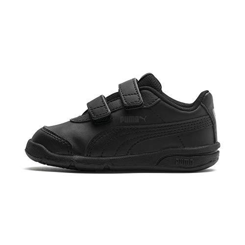 PUMA Unisex Kinder Stepfleex 2 Sl Ve V Inf Sneakers, Schwarz Black Black, 24 EU