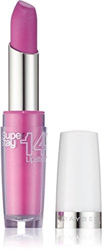 Maybelline New York Make-Up Lippenstift Super Stay 14h Lipstick On And On Pink / Glänzendes Pink mit 14 Stunden Halt, 1 x 3,5 g