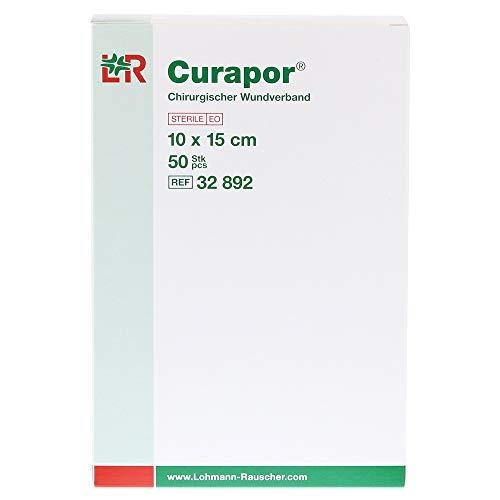 CURAPOR Wundverband steril chirurgisch 10x15 cm 50 St