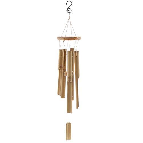 Create idea - Campana de madera para colgar en casa, patio, jardín, decoración de cumpleaños