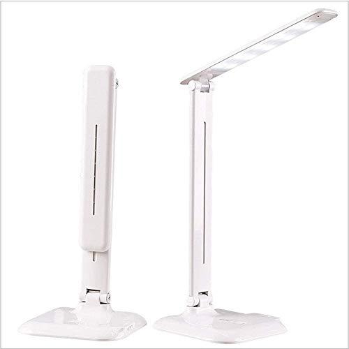 ZYCH Lámparas Lámpara de Escritorio LED con Puerto de Carga USB, 3 Temperaturas de Color X 3 Niveles de Brillo Luz