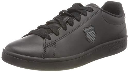 K-Swiss Herren Court Shield Sneaker, Black/Black, 43 EU