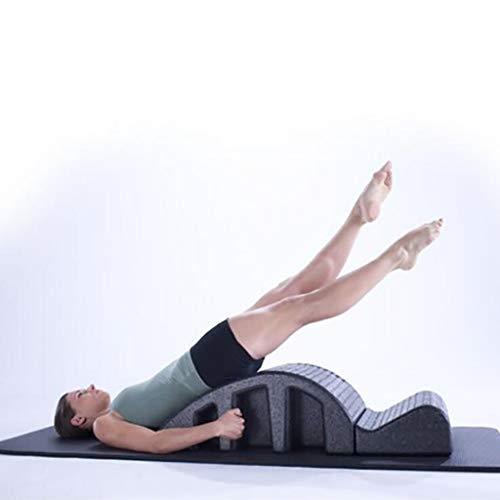 WXX Ausrichtung der Wirbelsäule - Fitnessgeräte Rückenkurven-Gesundheit Pilates-Ausrüstung,Black