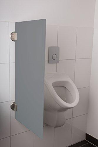 certifi/ée T/ÜV scham WC mural Messieurs kemmlit urinoir cloison Modena en HPL dans des couleurs classiques