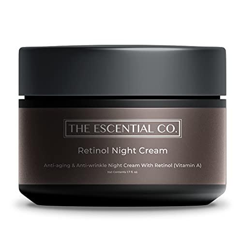 The Escential Co. Retinol Night Cream