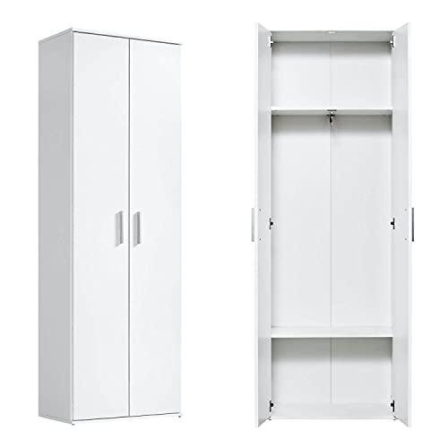 mokebo® Garderobenschrank 'Der Lange' moderner Mehrzweckschrank, Schrank & Kleiner Kleiderschrank, Made in Germany | 60x180x34 (B/H/T in cm)