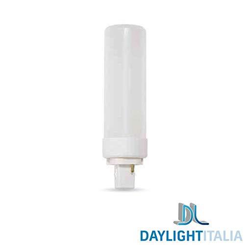 Daylight Italia G24D-3 LED-lampen, 11 W, 1055 lm, 110 °C, Dulux D – 3000 K, warmwit
