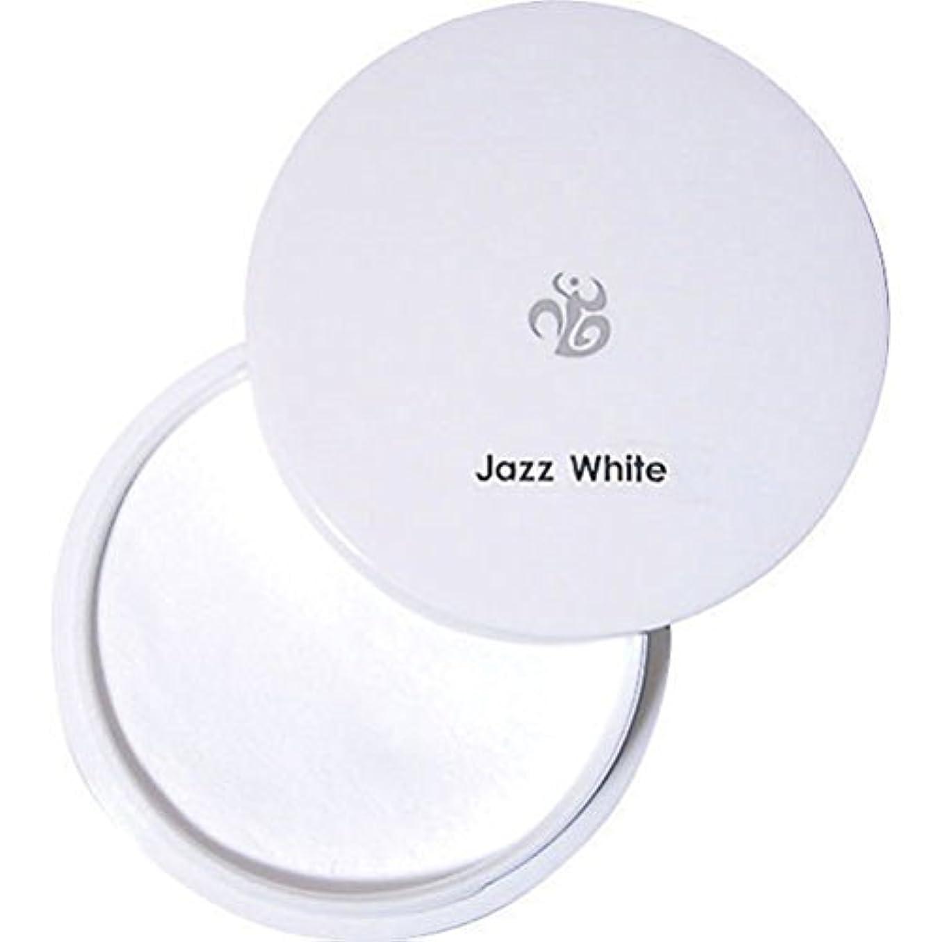 円形維持見えるパウダー ジャズホワイト 20g