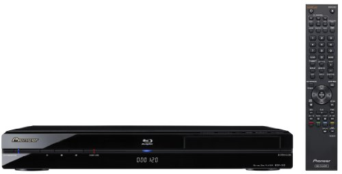 Pioneer BDP-120 Blu-Ray Player (HDMI, Upscaler 1080p, USB 2.0) schwarz