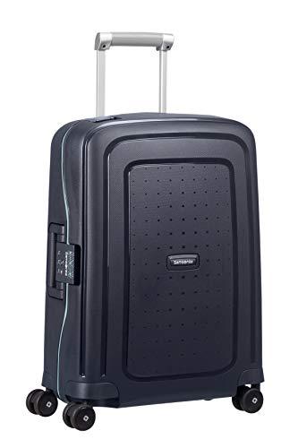 Samsonite S'Cure - Spinner S Hand Luggage, 55 cm, 34 Litre, Blue (Navy Blue Capri)
