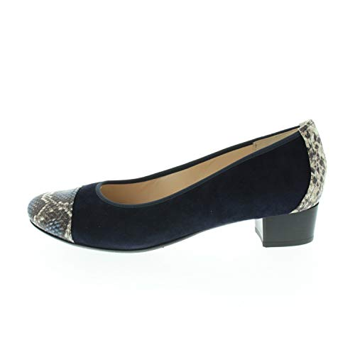 Hassia Damenschuhe Pumps Nachtblau Navy 93034663531 (Fraction_40_and_2_Thirds)