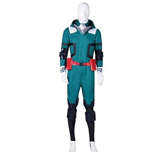 YYFS Anime Cosplay Disfraz de Halloween Tema de Halloween Uniforme Traje de Batalla Jumpsuit de Hombres Carnaval Conjunto Completo,Men's Size-Medium