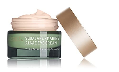 Biossance Squalane + Marine Algae Eye Cream. Rich Anti-Aging Face Cream Lifts, Firms and Smooths Fine Lines and Wrinkles (0.5 ounces)