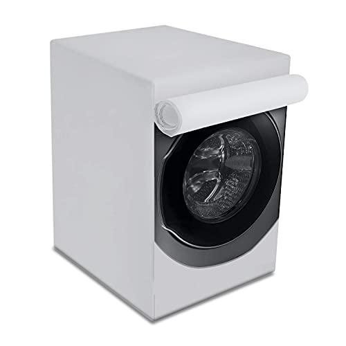 Carica Frontale lavatrici e Asciugatrice Copertura,Coprilavatrice da Esterno Copertura,Crema Solare Anti-ultravioletti Impermeabile Antipolvere (XL(85x60x65))