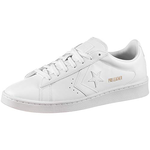Converse Pro Leather Colorblock-OX, Zapatillas Deportivas Unisex Adulto, Blanco, 36 EU