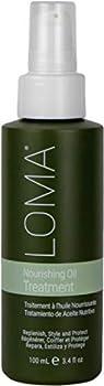 Loma Hair Care Nourishing Oil Treatment 3.4 Fl Oz
