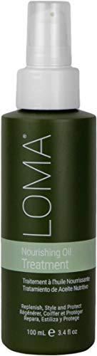 Loma Hair Care Nourishing Oil Treatment, 3.4 Fl Oz
