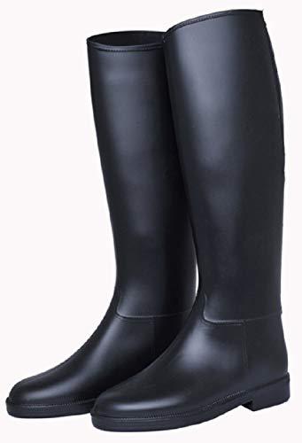 HKM 4501 - Botas de equitación para niños, con Cremallera, Impermeables, 33