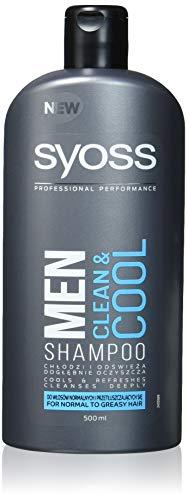 Syoss Men Clean & Cool Shampoo Für Normales Und Fettiges Haar 500ml