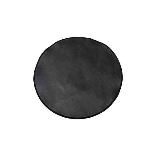Exuberanter Fire Pit Mat For Decking, Round Fireproof Mat Fire Pad Deck Protector, 24inch/32inch/36icnh