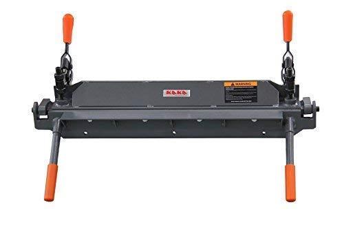 KAKA W1.2x610 24-Inch Sheet Metal Hand Brake, Solid Sheet Metal Bending Brake, 18 Gauge Mild Steel Capacity