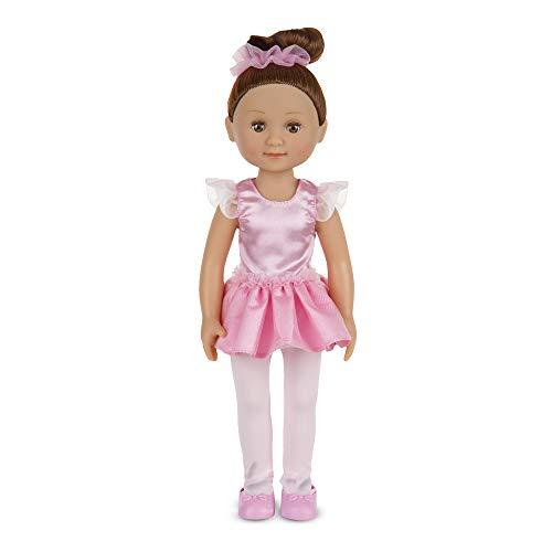 Melissa & Doug Victoria 14-Inch Poseable Ballerina Doll