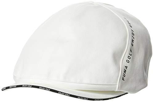 [プーマ] ハンチング ゴルフ ツイルハンチング メンズ 866568 ブライト ホワイト 日本 OneSize (FREE サイズ)