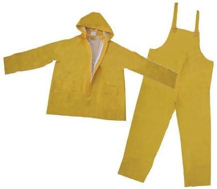 3A National uniform free shipping Safety - 35 mil. PVC Piece Polyester 3 Rainsuit XXX-la OFFicial shop size: