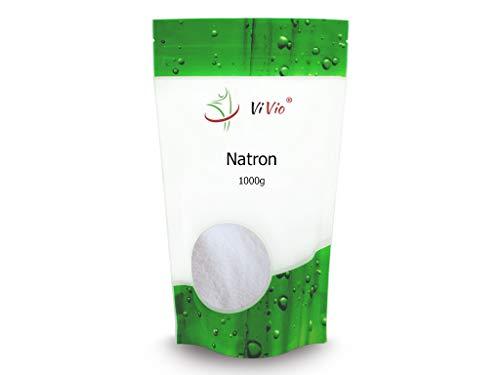 Natron 1000g - Premium Qualität - Natriumhydrogencarbonat(E500ii) - 1 kg Natriumhydrogencarbonat - NaHCO3 - Natriumbicarbonat E500 ii - Backsoda