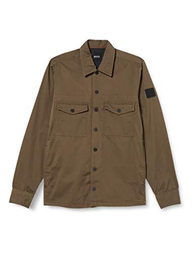 BOSS Lovel_4 Camisa, Beige/Khaki (250), XS para Hombre