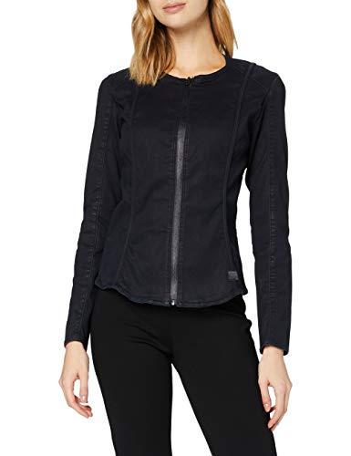 G-STAR RAW Womens Lynn Type 30 Super Slim Shirt, Naval Blue Shiny Cobler C106-B980, S