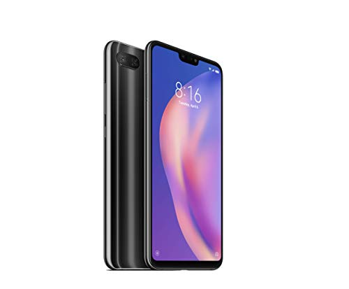 Xiaomi Mi 8 Lite, Dual Sim, 4GB RAM and 64GB Storage 6.26-Inch Android 8.1 UK Version SIM-Free Smartphone - Black (Official UK Launch)