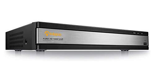 Anlapus 16 Kanal 1080P HD DVR Netzwerk Video Receiver Recorder Aufzeichnungsgerät ohne Festplatte, Unterstützt TVI/CVI/AHD/960H 720P 1080P CCTV System