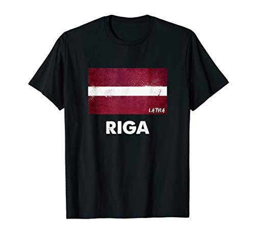 Riga Lettland Trikot T-Shirt