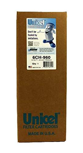 2 Unicel 6CH-960 Premium Replacement Pool Spa Filter Cartridges 6540-476
